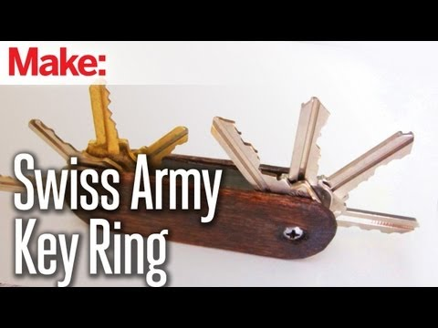 DIY Hacks & How To's: Swiss Army Key Ring