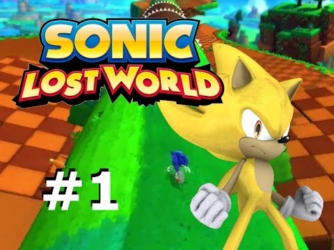 Sonic Lost World 3DS : Super Sonic Playthrough - Part 1