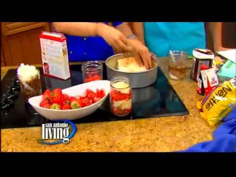 Mason jar baking