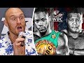 Tyson Fury BRUTAL BREAKDOWN Wilder Vs Ortiz Rematch