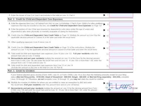 Form D 400TC Individual Income Tax Return