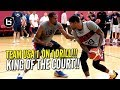 USA BASKETBALL CRAZY 1 ON 1 DRILL Kevin Durant Vs Paul George More