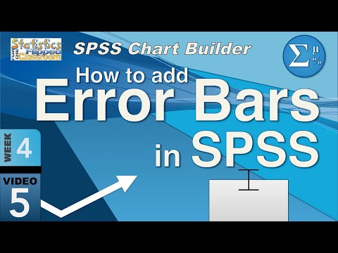 4-5 Error Bars for Graphs in SPSS