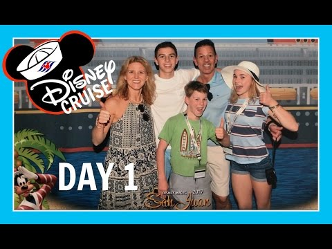 DISNEY CRUISE VACATION   DAY 1: ARRIVAL IN PUERTO RICO   Flippin' Katie