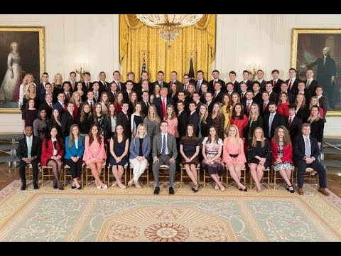 White House criticized after releasing photo of interns