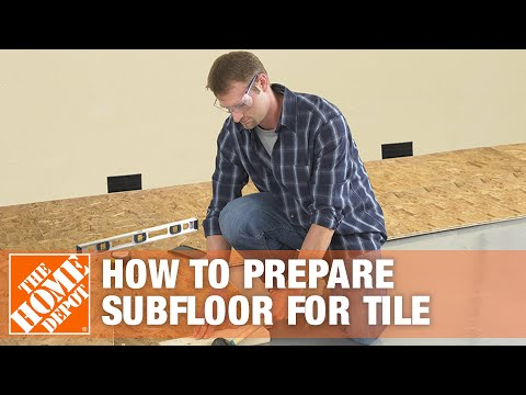 How to Prepare Your Subfloor for Tile
