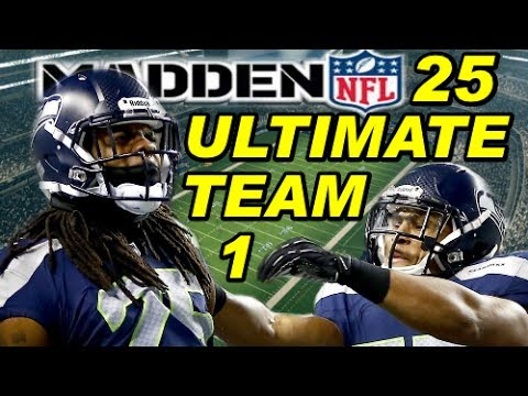 Madden NFL 25 Ultimate Team ep. 1 - Xbox One - Playing My First Game