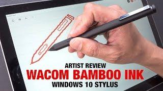 Artist Review: Wacom Bamboo Ink (Windows 10 Stylus)