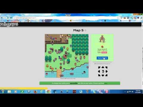 Capturing a Legendary Pokemon in DelugeRPG