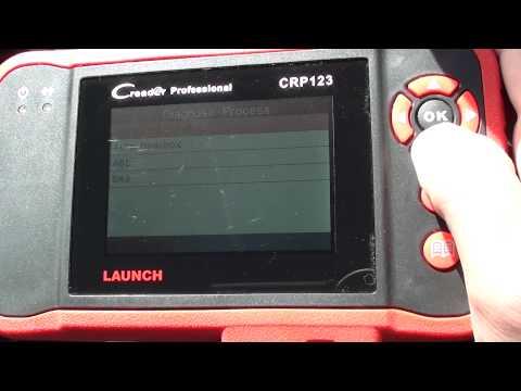 Freelander 2 SRS Airbag, ABS, Engine & Transmission Diagnostic Scan & Reset Tool CRP123