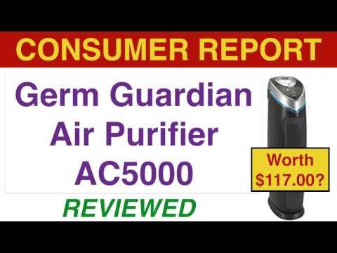 GermGuardian AC5000 Air Purifier Review