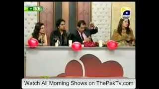 Rida isfahani On Utho Jago Pakistan Valentines Day Special