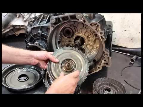 VW 02E DSG Clutch Damage