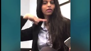 Shahrukh Khan Daughter Suhana Khan This Video Will Believe That Shes A BOLLYWOOD Ready