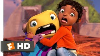 Home (2015) - Eiffel Tower Chase Scene (5/10)   Movieclips