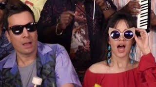 """Camila Cabello SLAYS """"Havana"""" With Classroom Instruments On Tonight Show"""