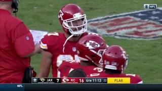 Travis Kelce Ejected For Throwing His Towel At The Ref Jaguars Vs Chi