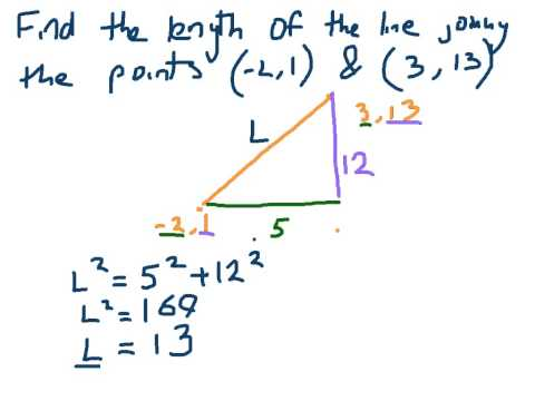 How to find the length of a line - Coordinate Geometry