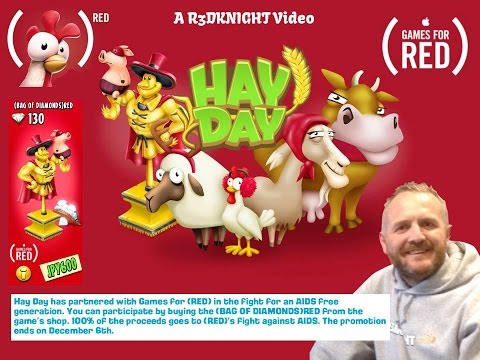 Hay Day RED - Wicker Statue and Diamonds - Donate Now