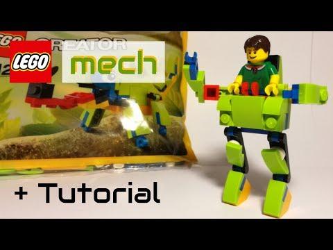 LEGO mech - 30477 alternative build + Tutorial