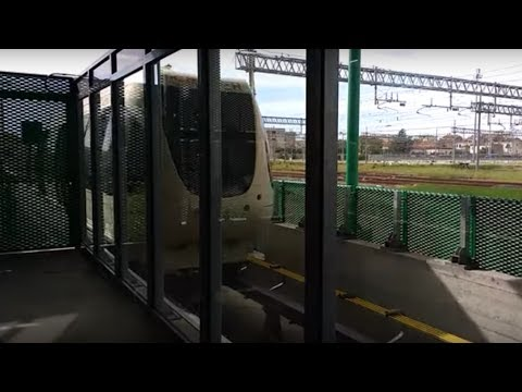 Pisa Mover airport transfer train