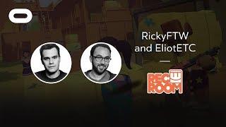 Rec Room | VR Playthrough | Oculus Rift Stream with RickyFTW and EliotETC