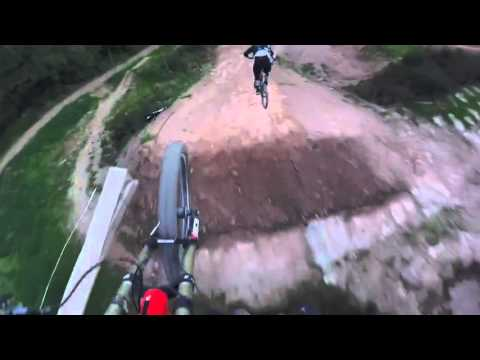 The worlds biggest dirt jump line with Vink Nico and Brendan Fairclough