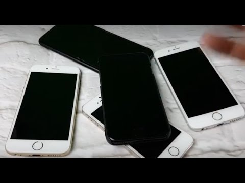 ALL IPHONES: HOW TO FIX BLACK SCREEN OF DEATH- IP7, IP6, IP6S, IP5, IP4, Plus's,  ETC