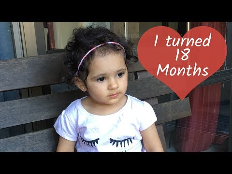 Dhyani turns 18 months - Indian vlogger | Mom N Me