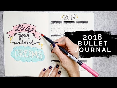 WHY I STOPPED SHARING MY BULLET JOURNAL •  2018 Bullet Journal (minimal + simple) | beautybitten
