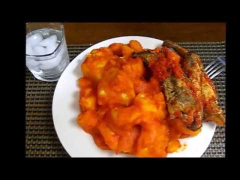 How to cook yam porridge aka asaro aka yam pottage