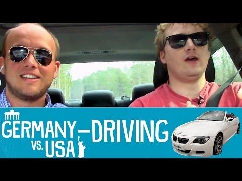 Driving - Germany vs USA