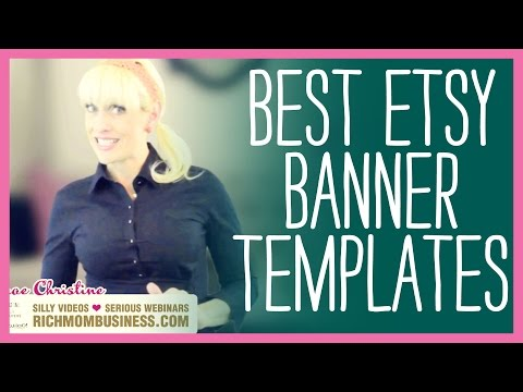 Etsy Banners Free Templates - DIY