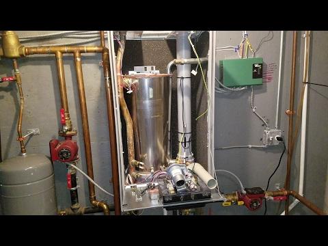 Tankless Boiler FAIL !!! HARD WATER DESTROYS BOILER, HEAT EXCHANGER