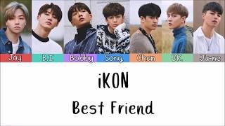 iKON (아이콘) - I'M OK (Color Coded Lyrics Eng/Rom/Han/가사