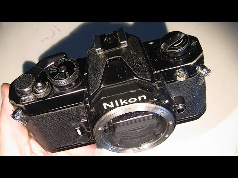 How to take off the top cover on Nikon FM