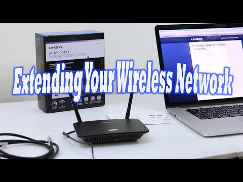 Extend Your Wireless Network! Linksys RE6500 Setup (Apple AirPort Extreme 2013)