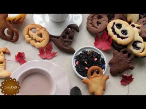 Making Beautiful Fall Cookies