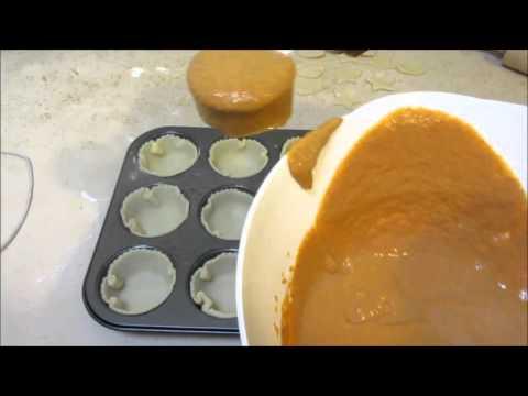 How To Make Mini Pumpkin Pies