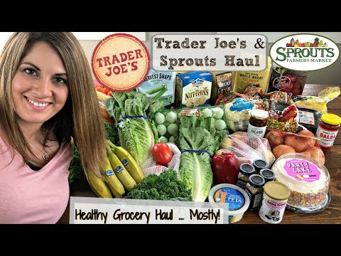 $50 TRADER JOE'S & $30 SPROUTS HAUL :: FAMILY OF 5 :: GROCERY HAUL