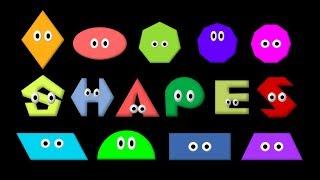 Shapes - Learn 2D Geometric Shapes - The Kids