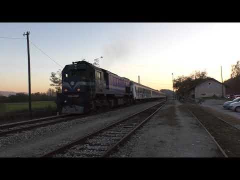 (HD) Croatia - a ride behind HŽPP 2044 008 from Zagreb - Veliko with THRASH! 19/10/17