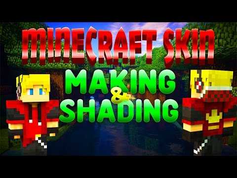 SPEEEDART! My Minecraft Skin Making & Shading! ♕ TUTORIALS coming soon ;) ♕
