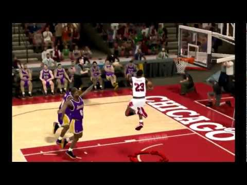 Top 10 Jordan Dunks NBA 2K12