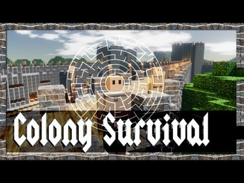 Surrounding Maze System: Your First Line of Defense Against Zombies! | Colony Survival