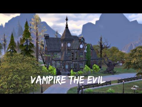 The Sims 4 Vampires   Speed Build   Vampire The Evil
