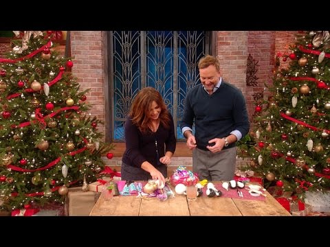 Turn Your Leftover Wrapping Paper Into Holiday Ornaments