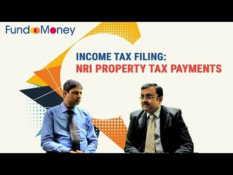 Income Tax Filing: NRI Property Tax Payments