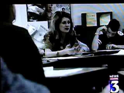 Mom on the news for AVID program -- 1999