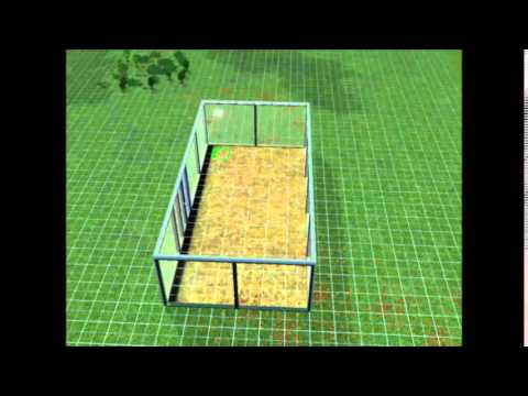 How to build a green house on sims 3